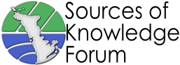 Sources of Knowledge Forum — Sharing Perspectives on the Natural & Cultural Heritage of the Bruce Peninsula, Ontario, Canada Logo